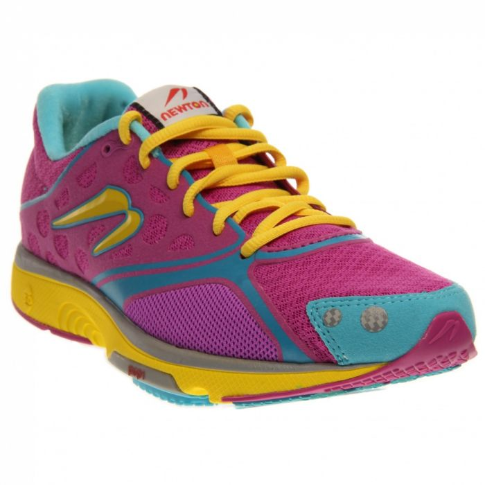 Newton Running Motion - Hot Pink Turquoise Yellow - Women's